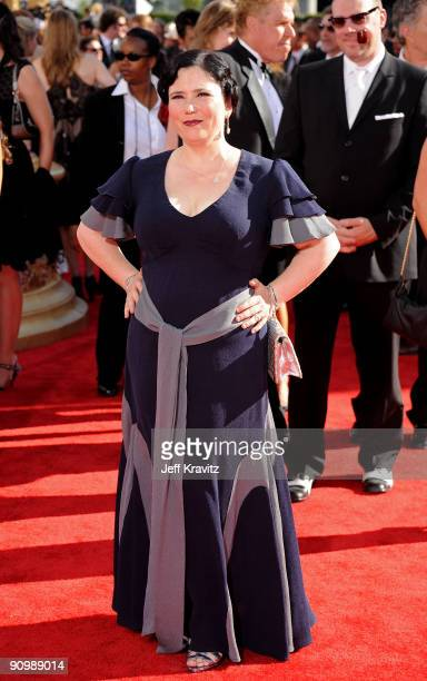 Actress Alex Borstein arrives at the 61st Primetime Emmy Awards held at the Nokia Theatre on September 20 2009 in Los Angeles California