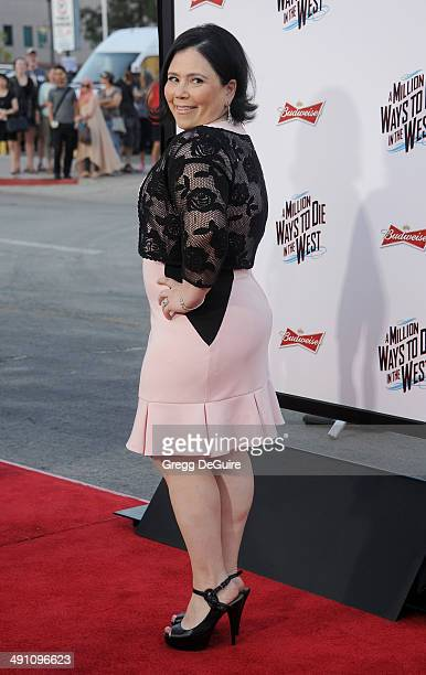Actress Alex Borstein arrives at the Los Angeles premiere of A Million Ways To Die In The West at Regency Village Theatre on May 15 2014 in Westwood...