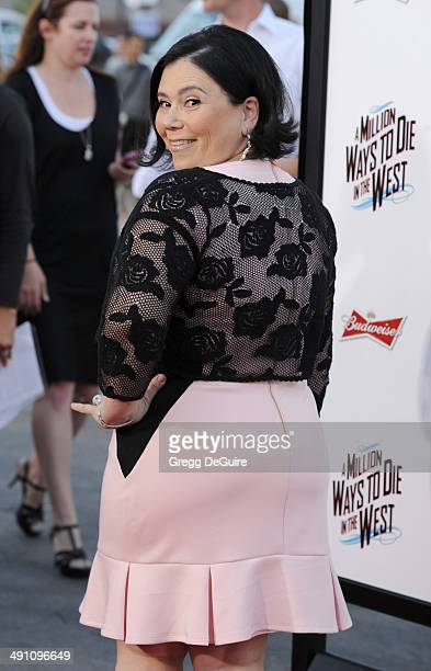 Actress Alex Borstein arrives at the Los Angeles premiere of 'A Million Ways To Die In The West' at Regency Village Theatre on May 15 2014 in...