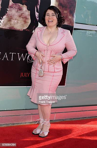 Actress Alex Borstein arrives at the world premiere of Catwoman in Los Angeles