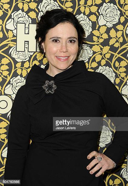 Actress Alex Borstein attends HBO's post 2016 Golden Globe Awards party at Circa 55 Restaurant on January 10 2016 in Los Angeles California