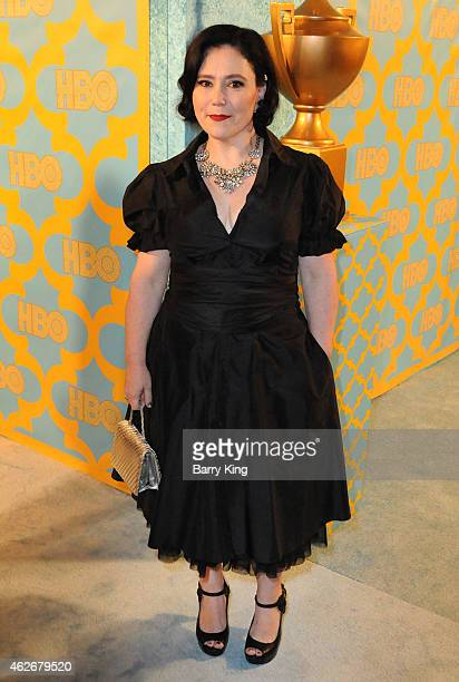 Actress Alex Borstein attends HBO's post Golden Globe Awards party at The Beverly Hilton Hotel on January 11 2015 in Beverly Hills California