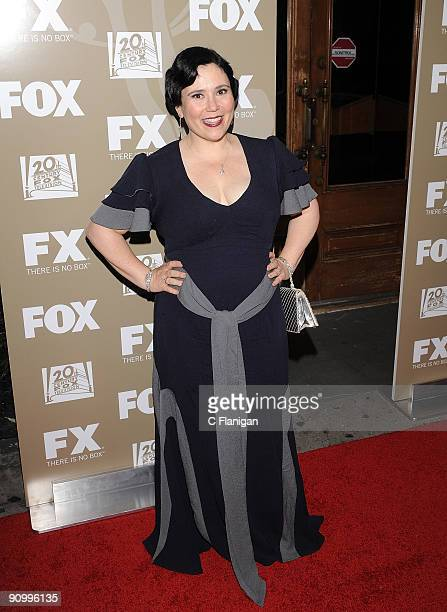 Actress Alex Borstein attends the 20th Century Fox and FX 2009 Emmy Party at Cicada on September 20 2009 in Los Angeles California