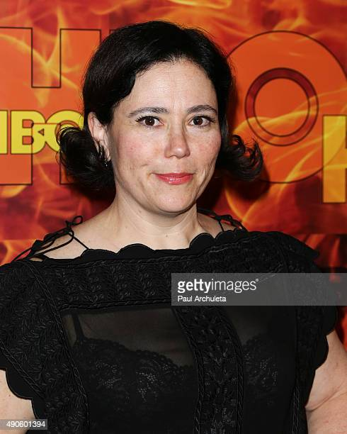 Actress Alex Borstein attends the HBO's Official 2015 Emmy After Party at The Plaza at the Pacific Design Center on September 20 2015 in Los Angeles...