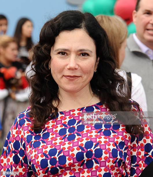 Actress Alex Borstein attends the premiere of 'Angry Birds' at Regency Village Theatre on May 7 2016 in Westwood California