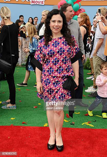 Actress Alex Borstein attends the premiere of Angry Birds at Regency Village Theatre on May 7 2016 in Westwood California