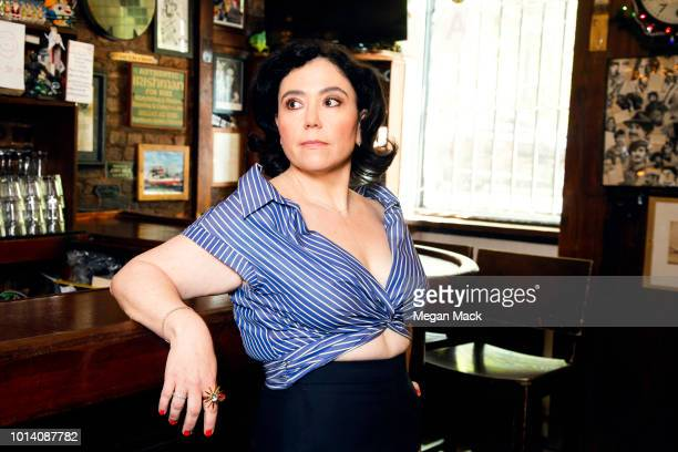 Actress Alex Borstein is photographed for The Wrap on May 7, 2018 in New York City. PUBLISHED IMAGE.