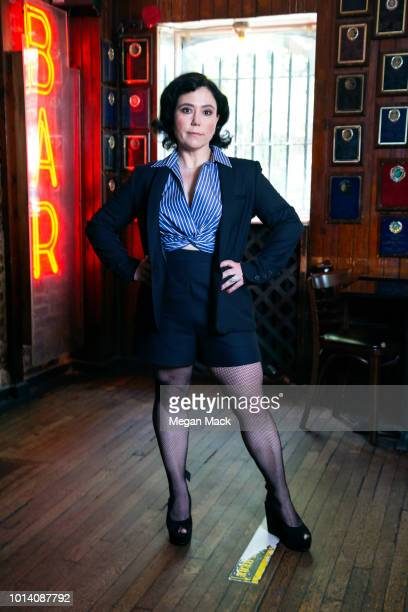 Actress Alex Borstein is photographed for The Wrap on May 7, 2018 in New York City.