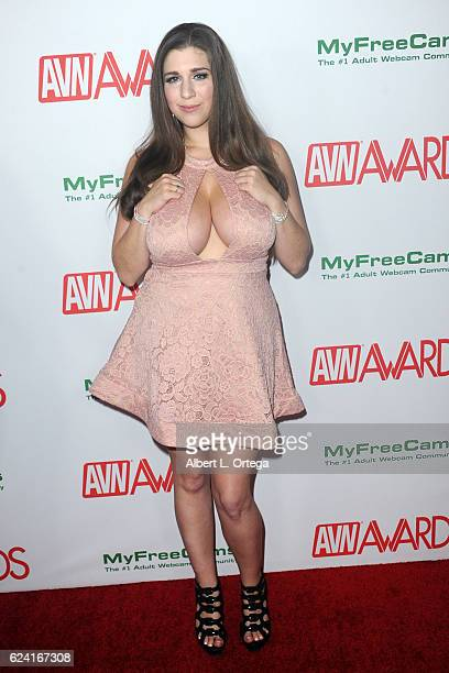 Actress Alex Chance arrives for the 2017 AVN Awards Nomination Party held at Avalon on November 17 2016 in Hollywood California