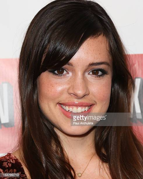 Actress Alex Frnka attends the Empire Magazine US edition launch party at the Sunset Tower on October 2 2012 in West Hollywood California