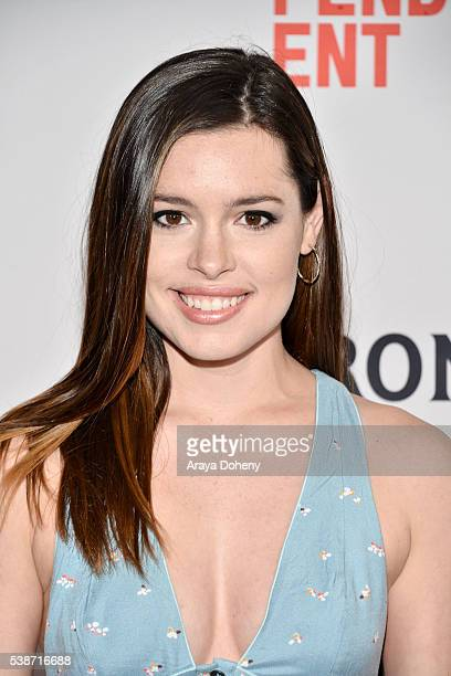 Actress Alex Frnka attends the premiere of 'Villisca' during the 2016 Los Angeles Film Festival at Arclight Cinemas Culver City on June 7 2016 in...