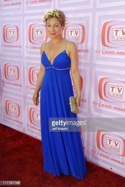 Actress Alex Kingston arrives at the 7th Annual TV Land Awards held at Gibson Amphitheatre on April 19, 2009 in Universal City, California.