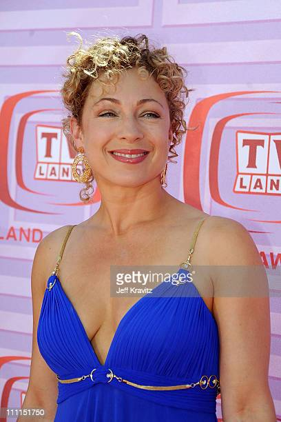 Actress Alex Kingston arrives at the 7th Annual TV Land Awards held at Gibson Amphitheatre on April 19 2009 in Universal City California