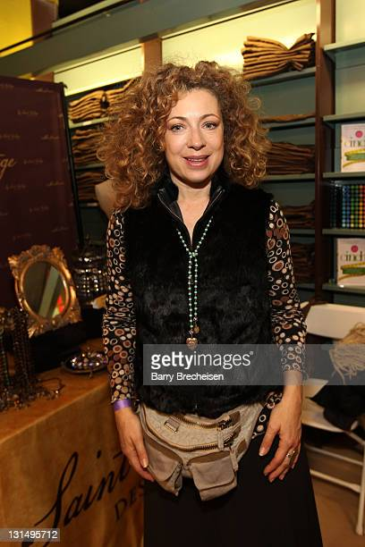 Actress Alex Kingston attends the Kari Feinstein Style Lounge on January 22 2011 in Park City Utah