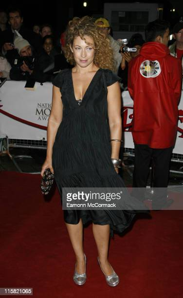 Actress Alex Kingston attends the National Movie Awards at the Royal Festival Hall on September 28 2007 in London England
