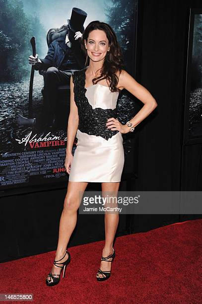 Actress Alex Lombard attends the Abraham Lincoln Vampire Slayer 3D New York Premiere at AMC Loews Lincoln Square 13 theater on June 18 2012 in New...