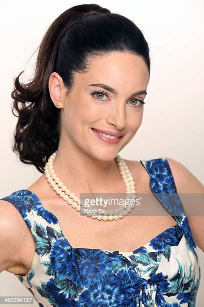 Actress Alex Lombard poses at private photo shoot on November 27 2013 in Los Angeles California