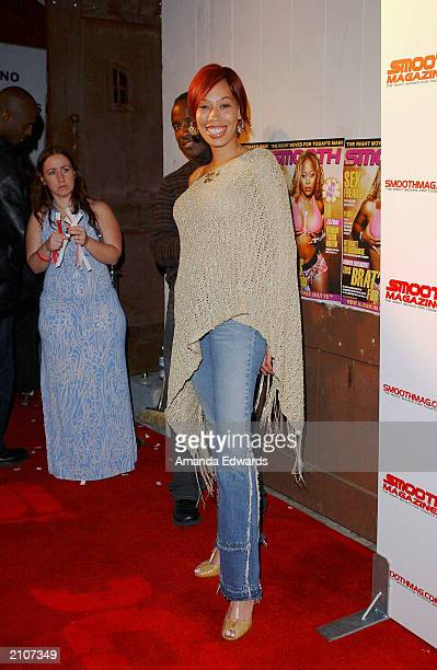 Actress Alex Martin arrives at the Smooth PreBET party at Club AD on June 23 2003 in Los Angeles California