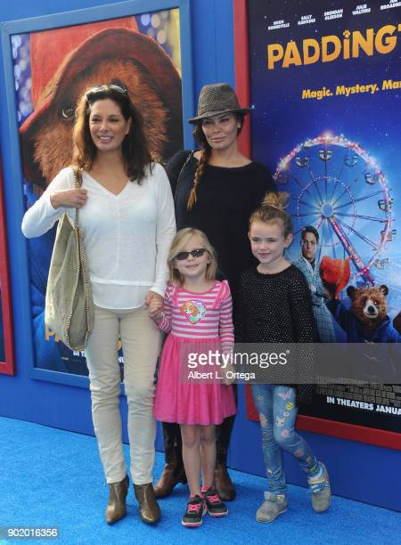 Actress Alex Meneses and guests arrive for the premiere of Warner Bros Pictures' 'Paddington 2' held at Regency Village Theatre on January 6 2018 in...