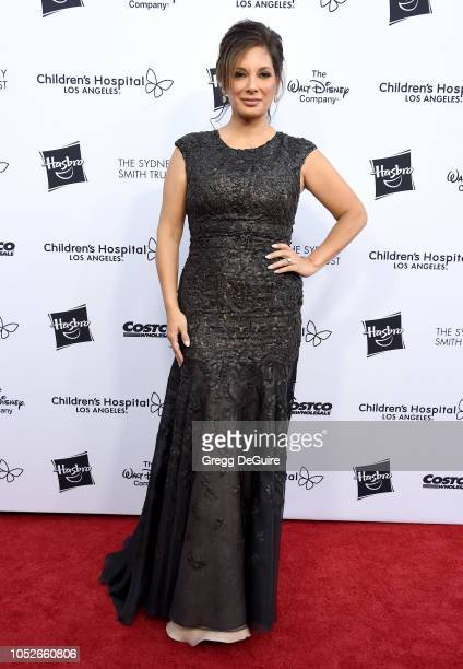 Actress Alex Meneses arrives at the 2018 From Paris With Love Children's Hospital Los Angeles Gala at LA Live Event Deck on October 20 2018 in Los...