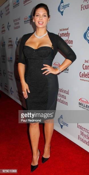 Actress Alex Meneses arrives at the 3rd Annual Comedy Celebration For The Peter Boyle Memorial Fund at The Wilshire Ebell Theatre on November 7 2009...