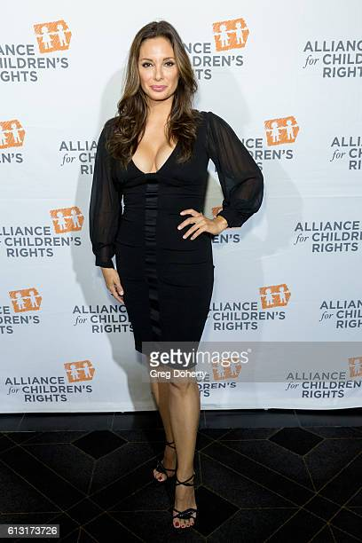Actress Alex Meneses arrives at the 7th Annual Right To Laugh at Avalon Hollywood on October 6 2016 in Hollywood California
