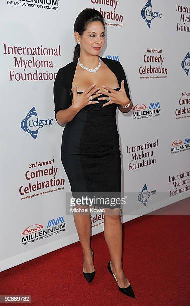 Actress Alex Meneses arrives at the International Myeloma Foundation's 3rd Annual Comedy Benefit Celebration at The Wilshire Ebell Theatre on...