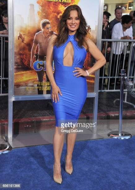 Actress Alex Meneses arrives at the premiere of Warner Bros Pictures' CHiPS at TCL Chinese Theatre on March 20 2017 in Hollywood California