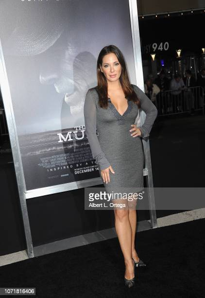 Actress Alex Meneses arrives for the Warner Bros Pictures World Premiere Of 'The Mule' held at Regency Village Theatre on December 10 2018 in...