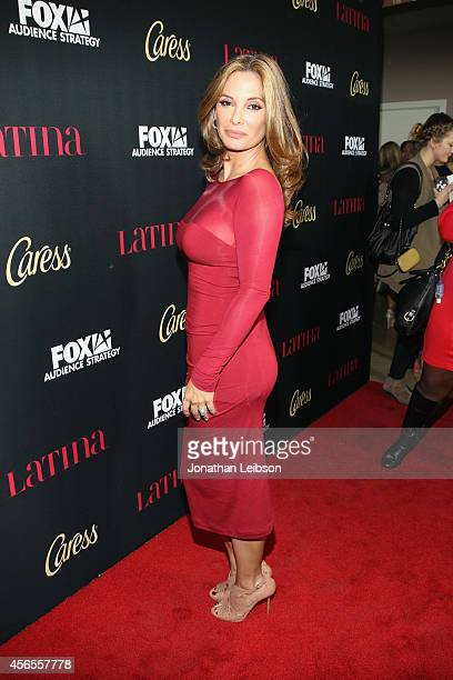 Actress Alex Meneses attends Latina Magazine's Hollywood Hot List Party at Sunset Tower on October 2 2014 in West Hollywood California