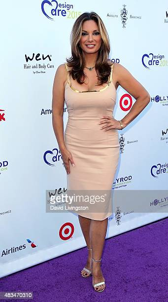 Actress Alex Meneses attends the 17th Annual DesignCare Gala at The Lot Studios on August 8 2015 in Los Angeles California