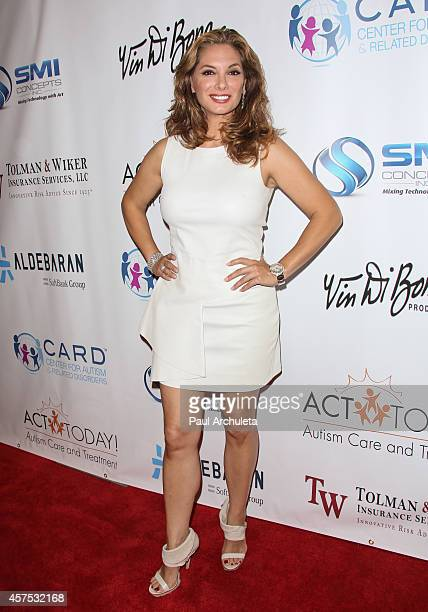 Actress Alex Meneses attends the 9th annual Denim Diamonds for Autism on October 19 2014 in Westlake Village California