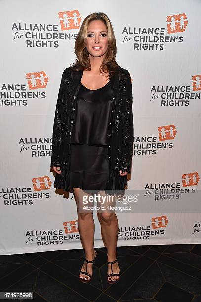 Actress Alex Meneses attends The Alliance For Children's Rights' Right To Laugh Benefit at The Avalon on May 27 2015 in Hollywood California