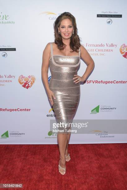 Actress Alex Meneses attends the Champion For Children Gala and Awards celebration at Sportsman's Lodge on August 11 2018 in Los Angeles California