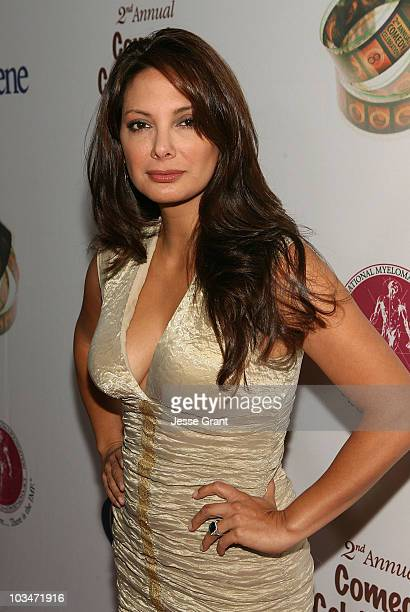 Actress Alex Meneses attends the International Myeloma Foundation's 2nd Annual Comedy Celebration benefitting The Peter Boyle Memorial Fund held at...