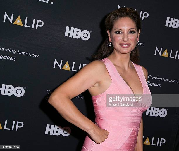 Actress Alex Meneses attends the NALIP 16th Annual Latino Media Awards at W Hollywood on June 27 2015 in Hollywood California