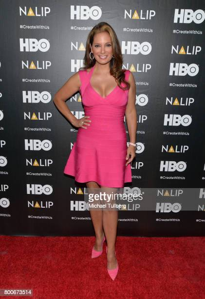 Actress Alex Meneses attends the NALIP 2017 Latino Media Awards at The Ray Dolby Ballroom at Hollywood Highland Center on June 24 2017 in Hollywood...