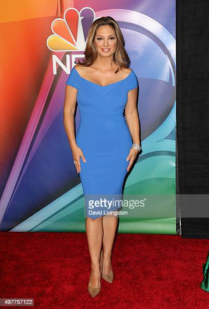 Actress Alex Meneses attends the NBC Comedy Press Junket for 'Telenovela' and 'Superstore' at Universal Studios Hollywood on November 18 2015 in...