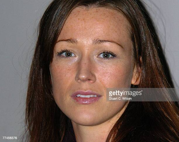 Actress Alex Reid attends a screening of 'Jetsam' 'at the National Film Theatre as part of the BFI 51st London Film Festival on October 23 2007 in...