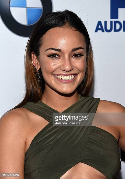 Actress Alex Rodriguez arrives at the Latina 'Hot List' Party hosted by Latina Media Ventures at The London West Hollywood on October 6 2015 in West...