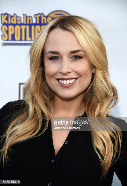 Actress Alex Rose Wiesel arrives at the Kids In The Spotlight's Cocktails For A Cause event at The District Restaurant on September 7 2017 in Los...
