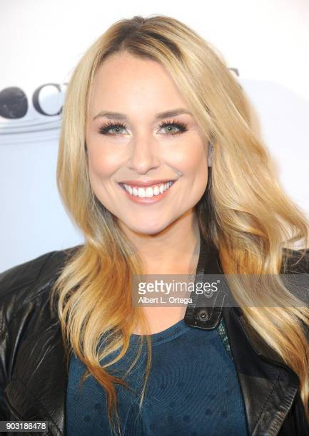Actress Alex Rose Wiesel arrives for the Premiere Of Bachelor Lions held January 9 2018 in Hollywood California