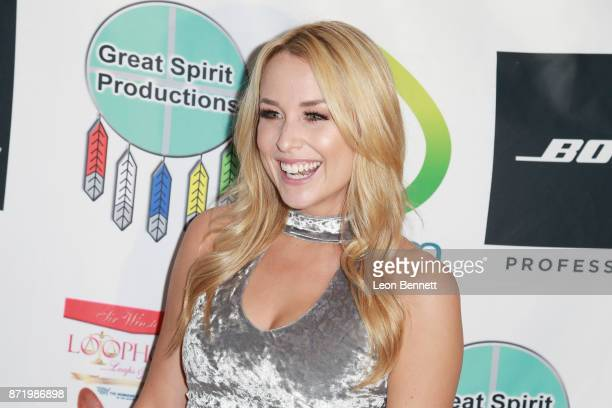 Actress Alex Rose Wiesel attended the 11th Annual Hollywood FAME Awards at Hard Rock Cafe Hollywood CA on November 8 2017 in Hollywood California