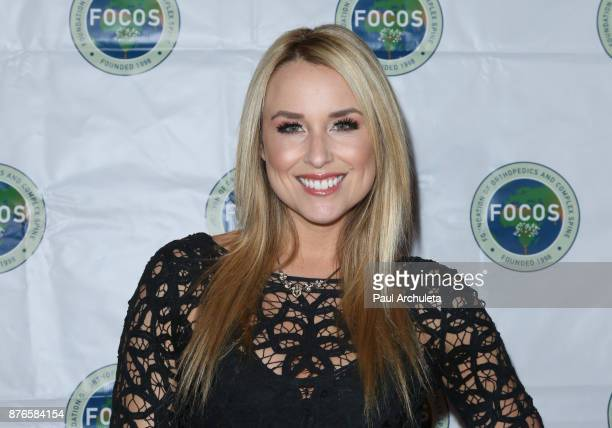 Actress Alex Rose Wiesel attends the 4th annual Evening Of Hope at The La Loggia restaurant on November 19 2017 in Studio City California