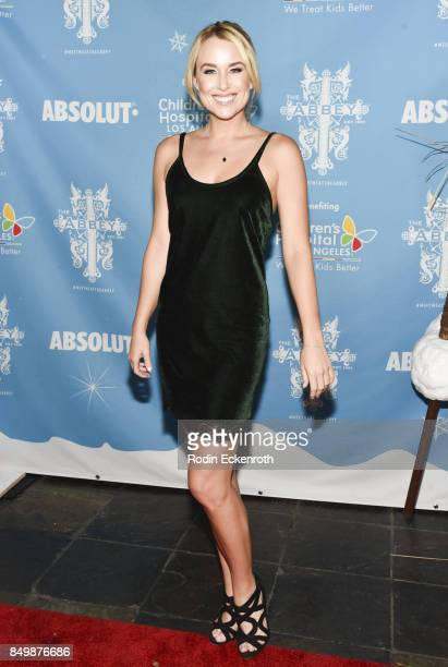 Actress Alex Rose Wiesel attends The Abbey Food and Bar's 12th annual Christmas in September Event at The Abbey on September 19 2017 in West...