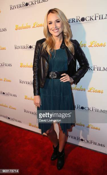 Actress Alex Rose Wiesel attends the premiere of Bachelor Lions at ArcLight Hollywood on January 9 2018 in Hollywood California