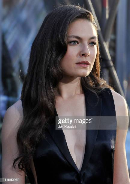 Actress Alexa Davalos arrives at the Los Angeles Premiere Clash Of The Titans at Grauman's Chinese Theatre on March 31 2010 in Hollywood California