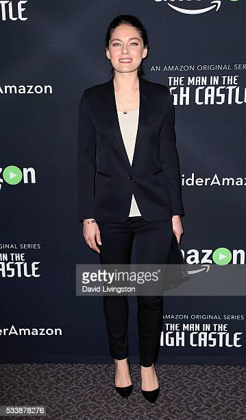 Actress Alexa Davalos attends the Amazon original series 'The Man in the High Castle' Emmy FYC screening at the Directors Guild Of America on May 23...