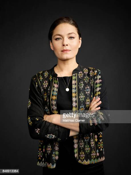 Actress Alexa Davalos from 'The Man in the High Castle' is photographed for Entertainment Weekly Magazine on July 21, 2016 at Comic Con in the Hard...