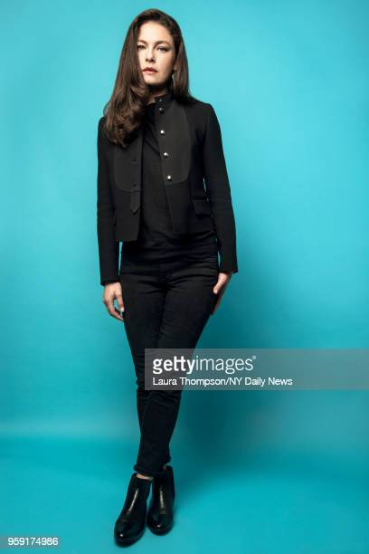 Actress Alexa Davalos is photographed for NY Daily News on October 8 2016 in New York City CREDIT MUST READ Laura Thompson/NY Daily News/Contour RA